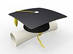 3d_graduation_cap_and_diploma