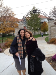 Darcy Lear with Dr. Elena DeCosta of Carroll University