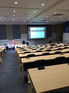 Site of The College of New Jersey workshop on February 26, 2014.