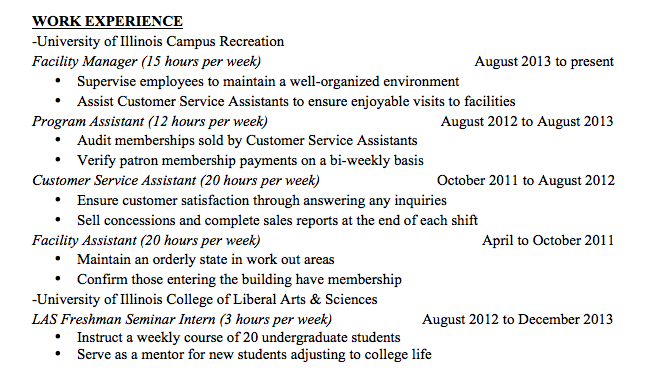 screen shot 2014 03 15 at 93802 am - Peace Corps Resume