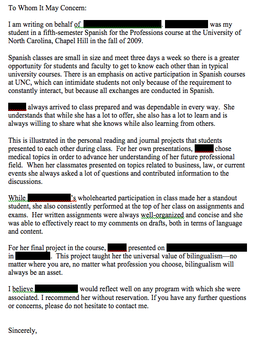 Do Letter Of Recommendation from darcylear.files.wordpress.com