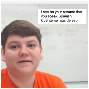 SpanishJobInterviewQuestion